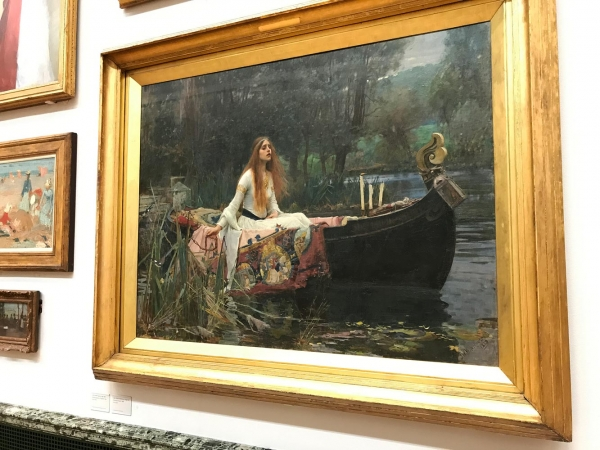 'The Lady of Shalott' John William Waterhouse, 1888