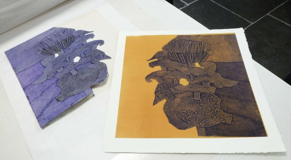 Collagraph course